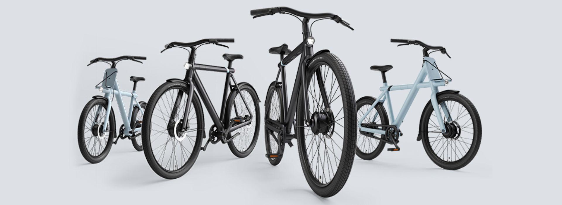 À la rencontre des nouveaux VanMoof électriques S3 & X3: It's time to ride the future