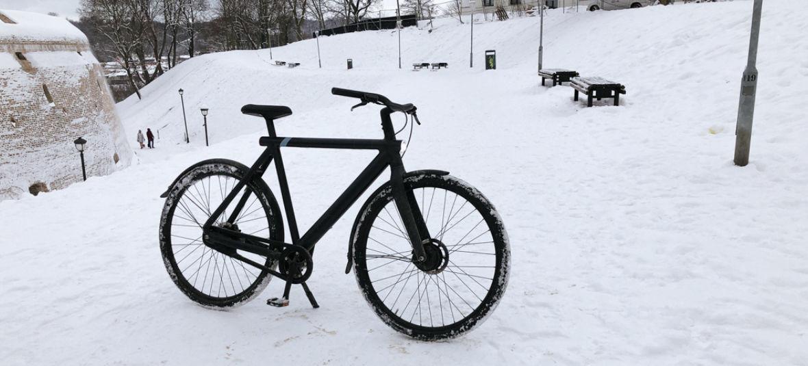 3 Winterproofing Tips For Your VanMoof Winter Ride