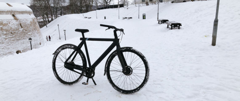 3 Winterproofing Tips For Your VanMoof Winter Ride