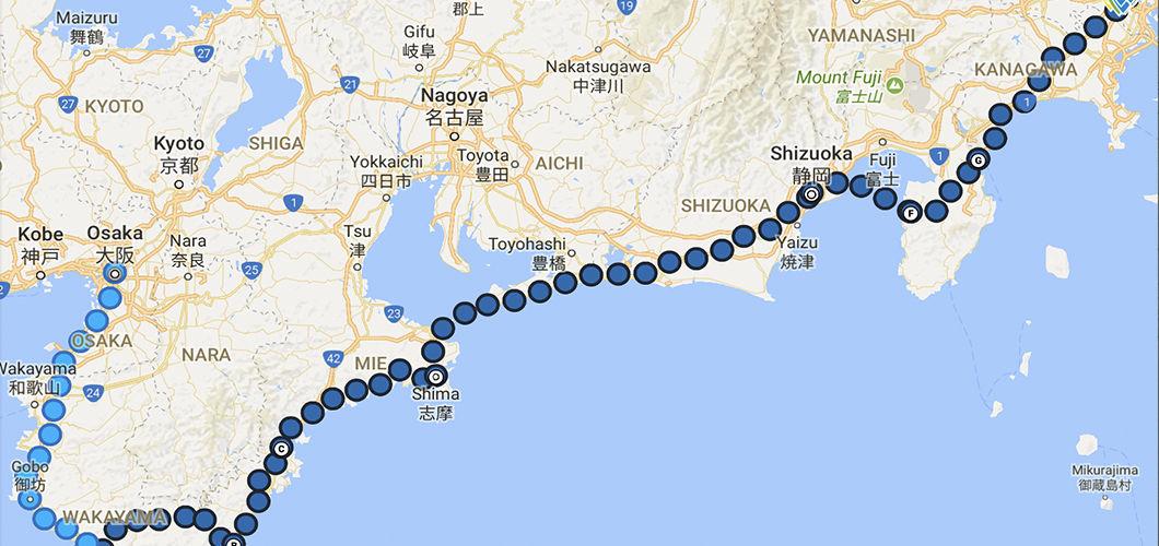 Osaka to Tokyo: the 1000 Kilometer Test Ride - VanMoof Blog