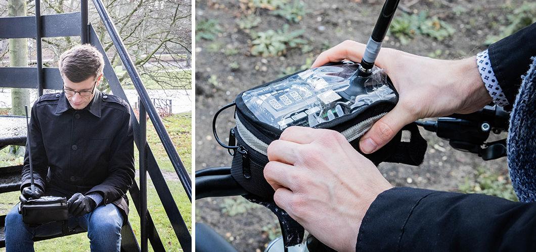 Dude, where's my bike? Meet the custom tracker our Bike