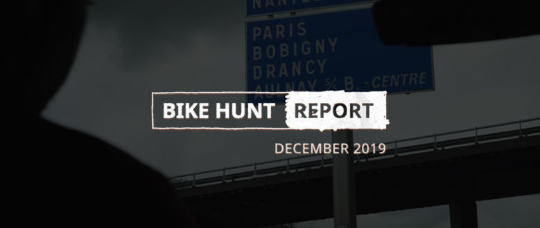 VanMoof Bike Hunt Report – December