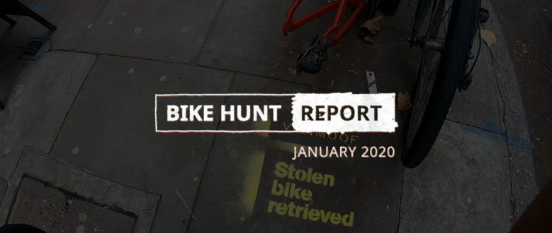 VanMoof Bike Hunt Report – January
