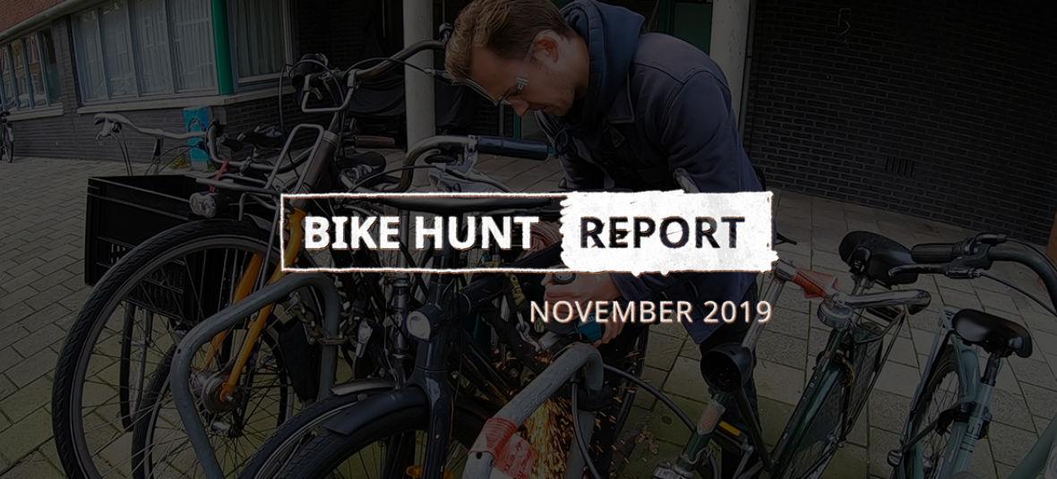 VanMoof Bike Hunt Report – November