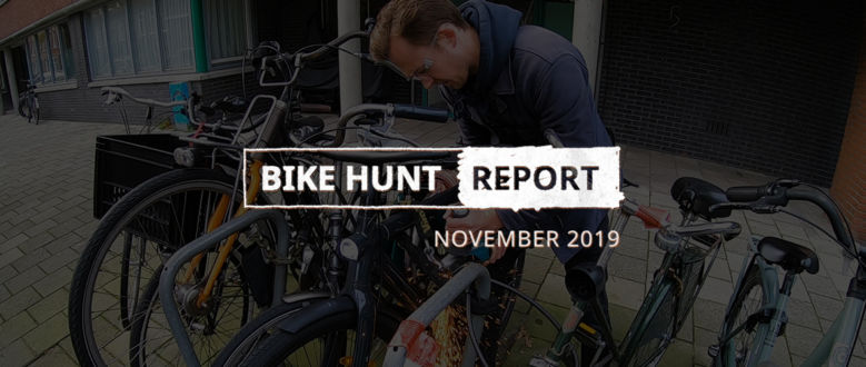 VanMoof Bike Hunt Report – November