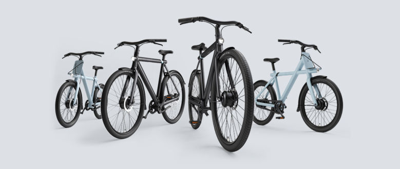 Das neue Electric VanMoof S3 & X3: It's time to ride the future
