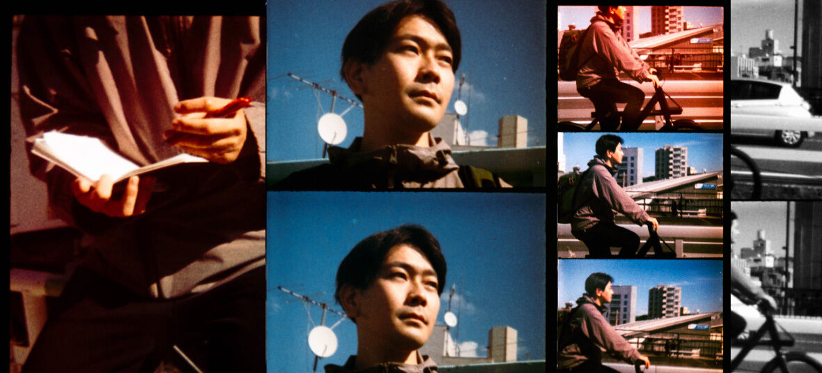 Where the man-made and organic meet: Otsuka Takeshi talks silhouettes, patterns, and Tokyo rides.