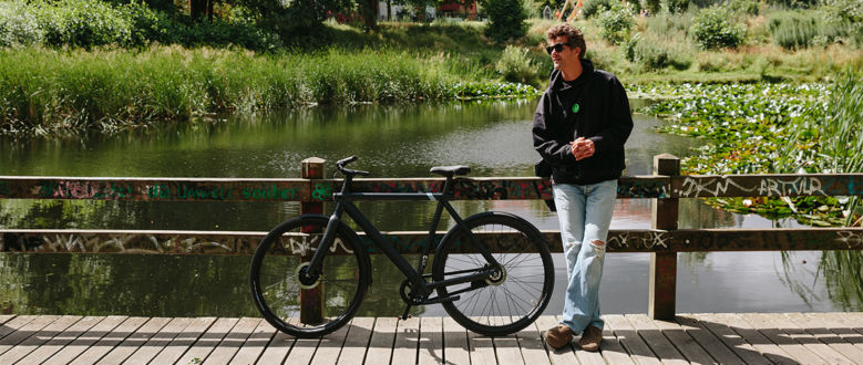 Dreaming of a greener Berlin: a ride with designer David Mallon