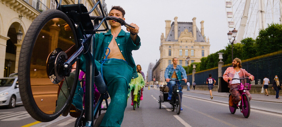 Freedom Fields: how Pigalle's VanMoof-inspired collection took Parisians by storm at Paris Fashion Week