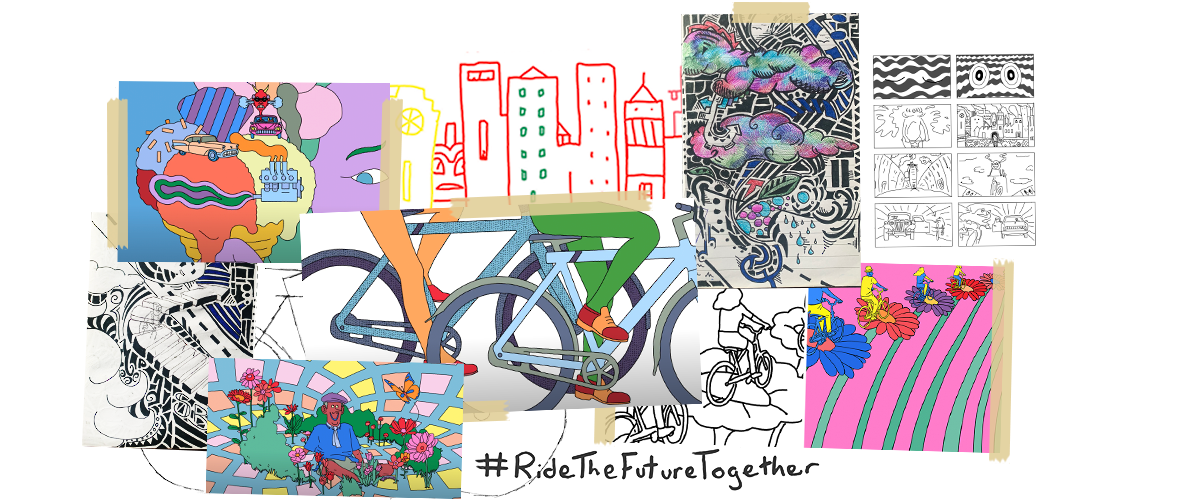Ride The Future Together - あなたは未来をどう想像しますか?