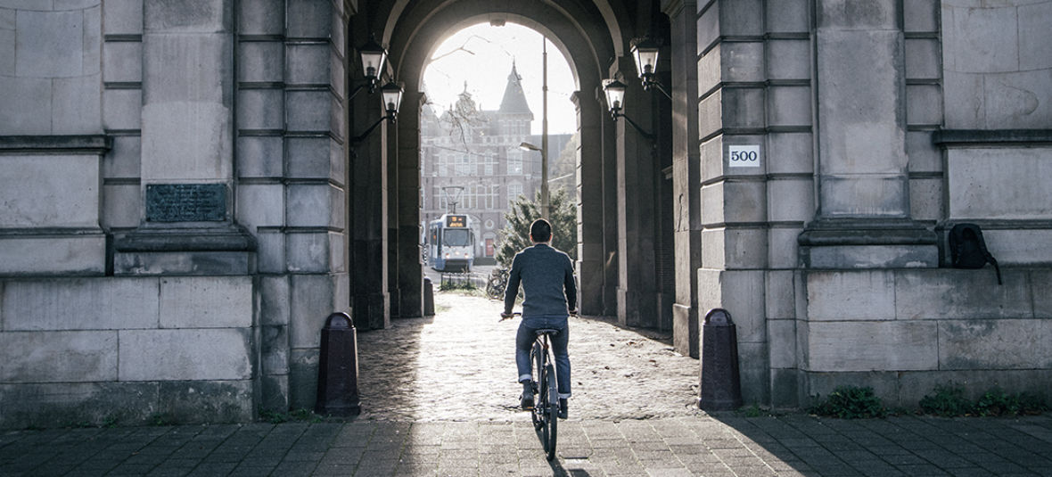 Riding Into The Deep End With Seb Van Amstel