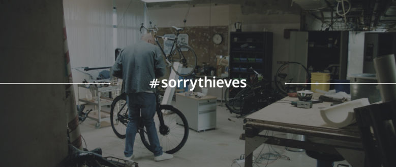 #sorrythieves: Behind the Scenes of The Bike Trap