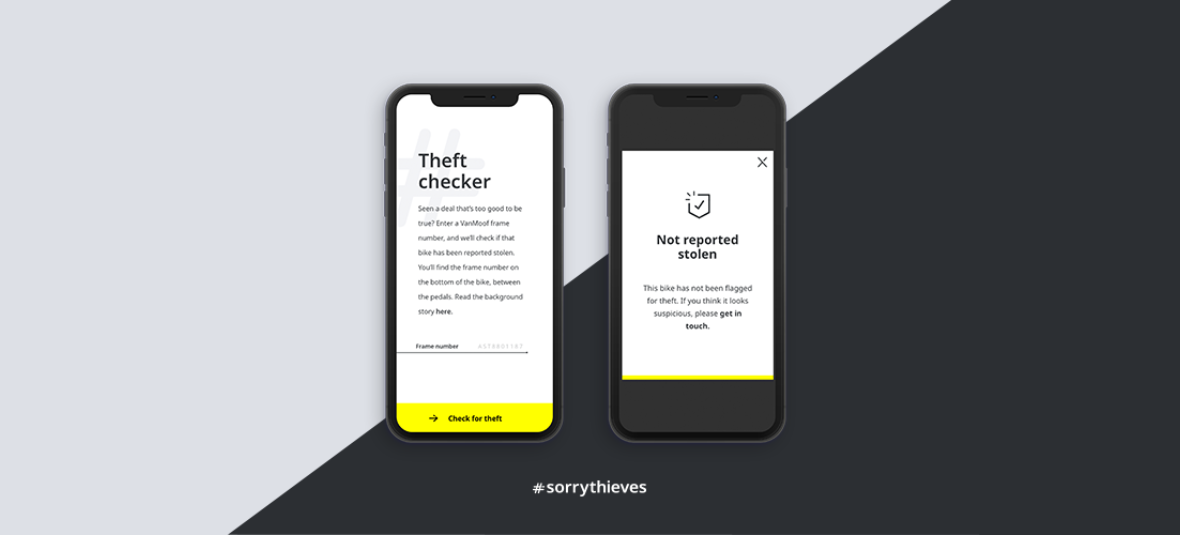 #sorrythieves: The Theft Checker