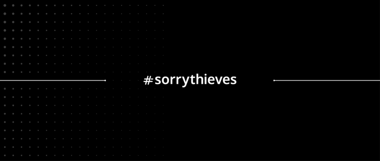 #sorrythieves: We're Ending Bike Theft by 2020