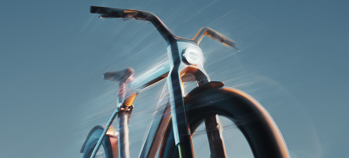 Wir präsentieren das VanMoof V: unser allererstes High-Speed E-Bike. Es ist Zeit, Grenzen zu verschieben.