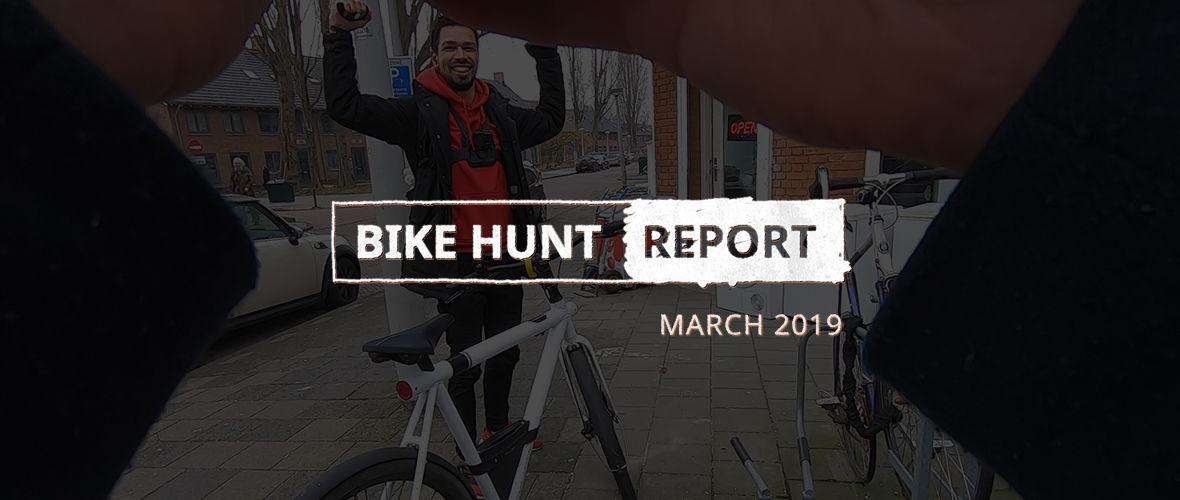 VanMoof Bike Hunt Report – March