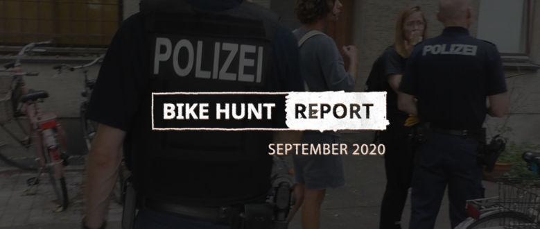 VanMoof Bike Hunt Report – 9月