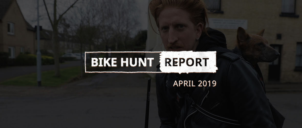 VanMoof Bike Hunt Report – April