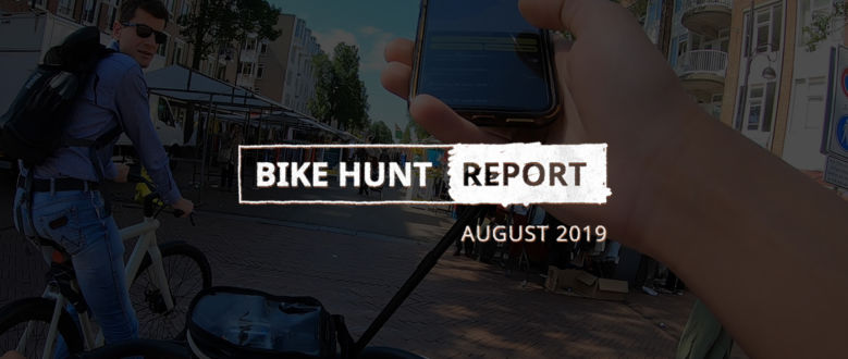 VanMoof Bike Hunt Report – August