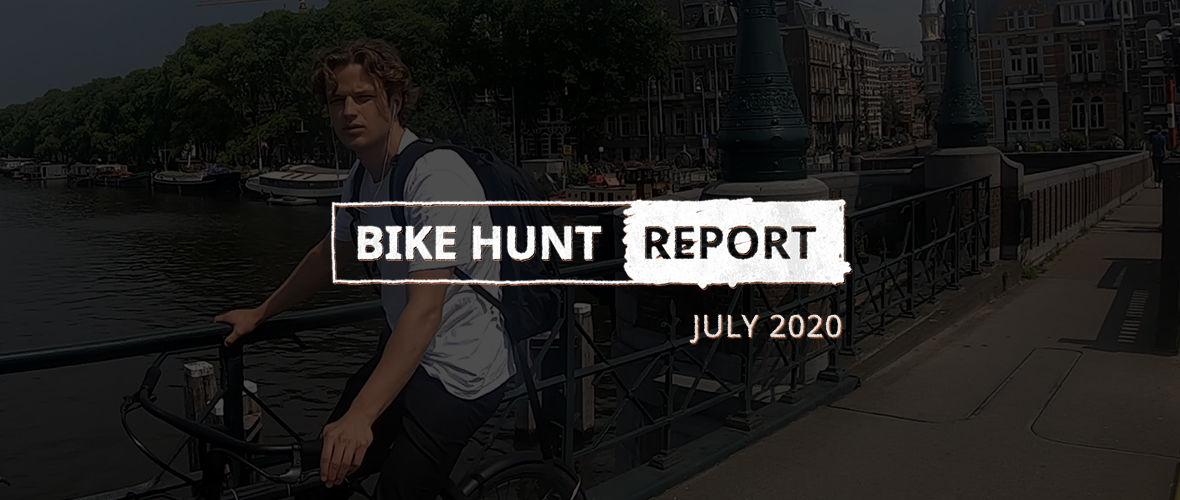 VanMoof Bike Hunt Report – juli