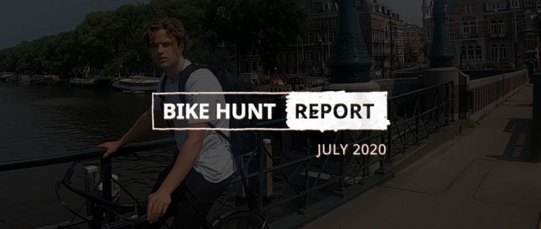VanMoof Bike Hunt Report – July