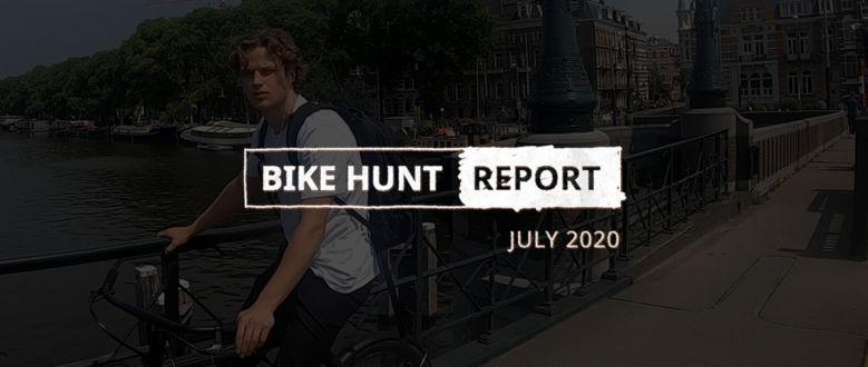 VanMoof Bike Hunt Report – July