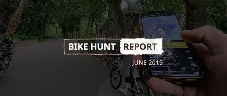 VanMoof Bike Hunt Report – June
