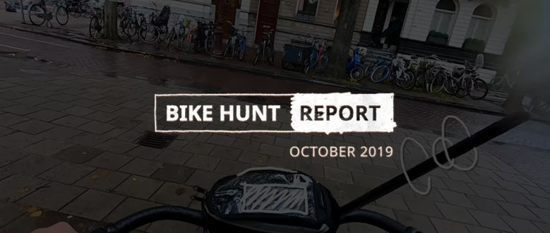 VanMoof Bike Hunt Report – October