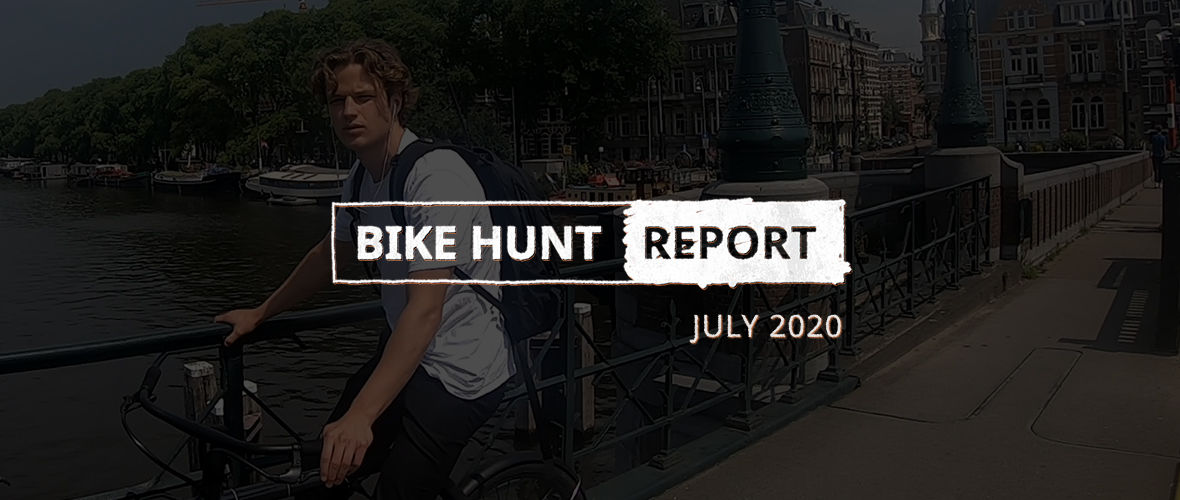 VanMoof Bike Hunt Report – Juli
