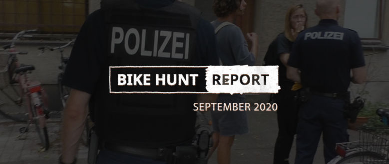VanMoof Bike Hunt Report – septembre