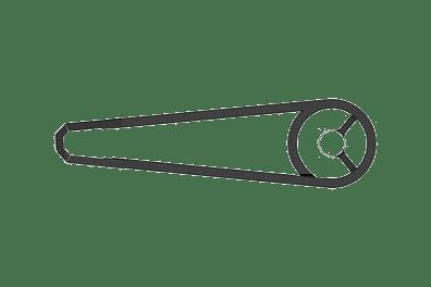 VanMoof Chainguard set for M3 series