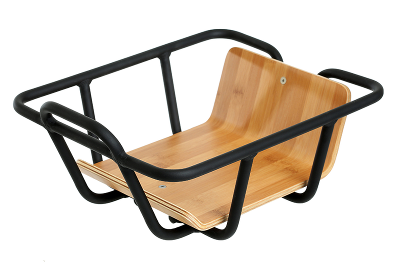 VanMoof Black Front Carrier for Smart X and Electrified X2 Frame