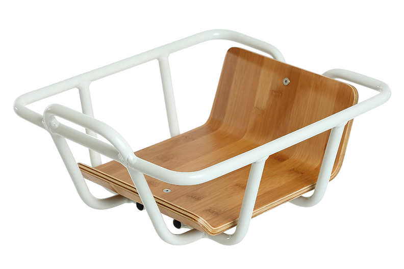 VanMoof White Front Carrier for Smart X and Electrified X2